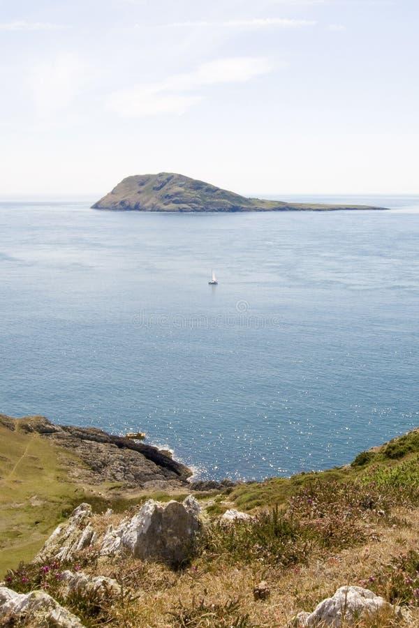 Isla de Bardsey fotografía de archivo