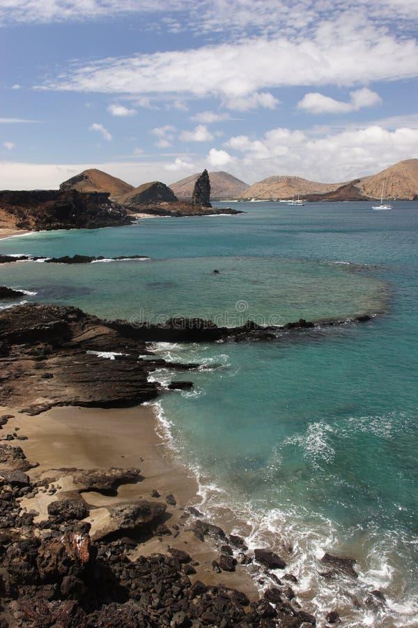 Isla de Bartolomé fotografía de archivo