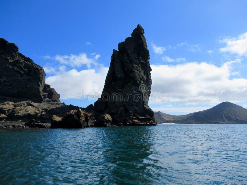 Isla de Bartolome, punto de Penacle, las Islas Galápagos imágenes de archivo libres de regalías