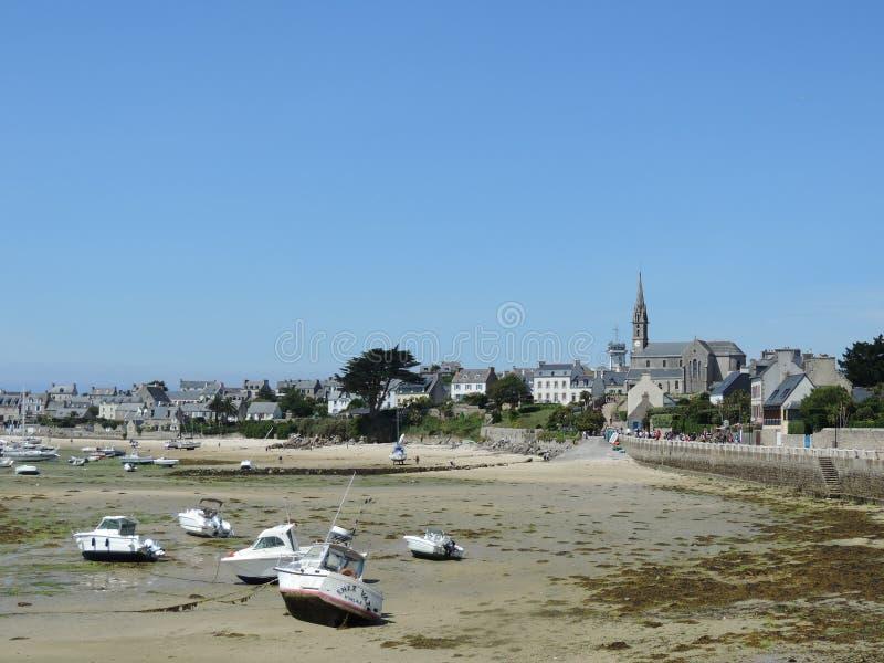 Isla de Batz en Bretaña; Francia imágenes de archivo libres de regalías