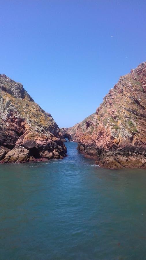Isla de Berlenga: el paraíso portugués fotos de archivo libres de regalías