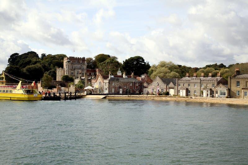 Isla de Brownsea, Poole, Doset fotografía de archivo