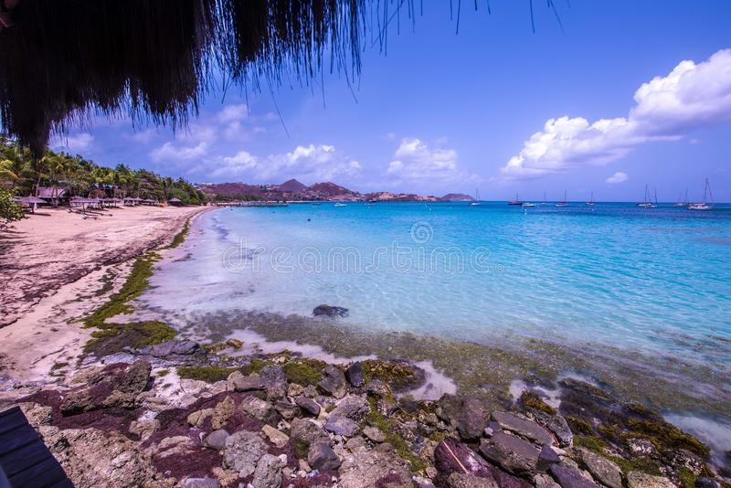 Isla de Canouan, St Vincent fotos de archivo libres de regalías