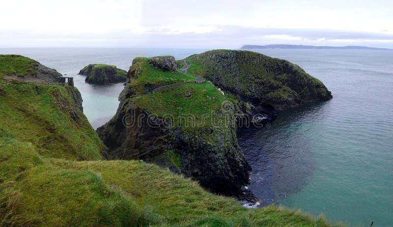 Isla de Carrick-a-Rede fotografía de archivo libre de regalías