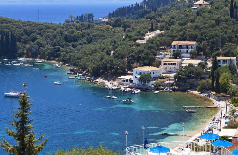 Isla de Corfú en Grecia fotos de archivo libres de regalías
