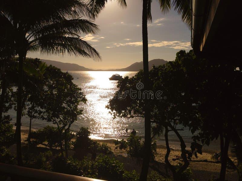 Isla de Fitzroy fotografía de archivo