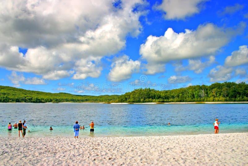 Isla de Fraser, Australia imagen de archivo libre de regalías