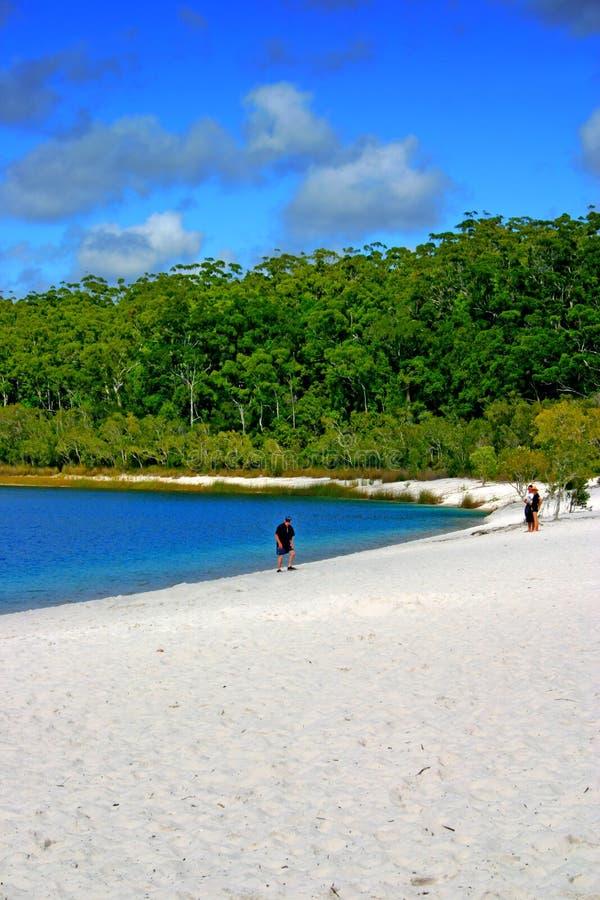 Isla de Fraser, Australia fotografía de archivo libre de regalías