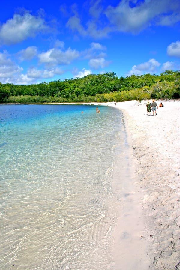 Isla de Fraser, Australia imágenes de archivo libres de regalías