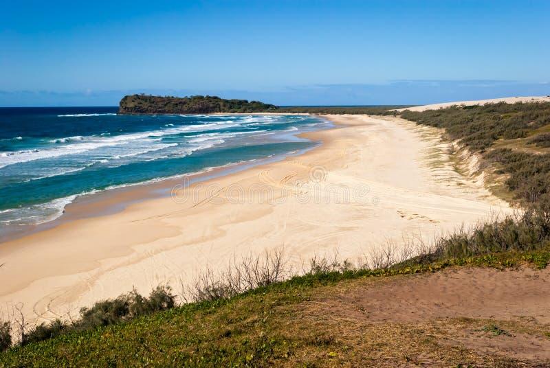 Isla de Fraser, Australia foto de archivo libre de regalías