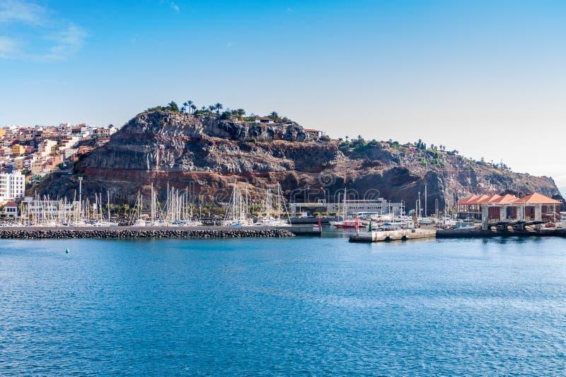 Isla de Gomera del La fotografía de archivo