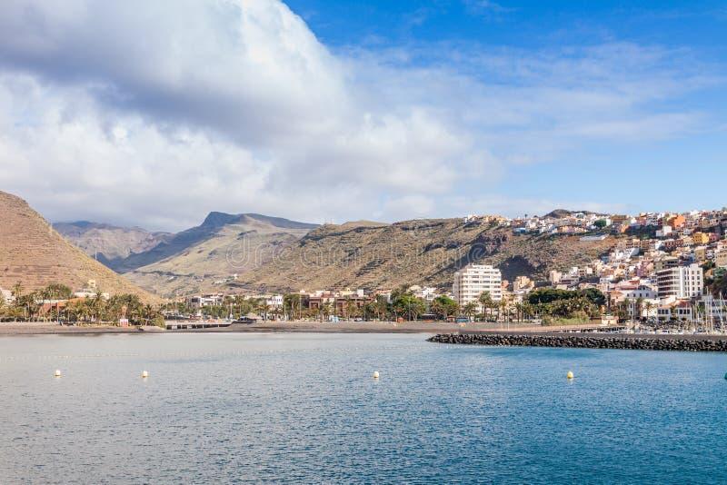 Isla de Gomera del La fotos de archivo libres de regalías