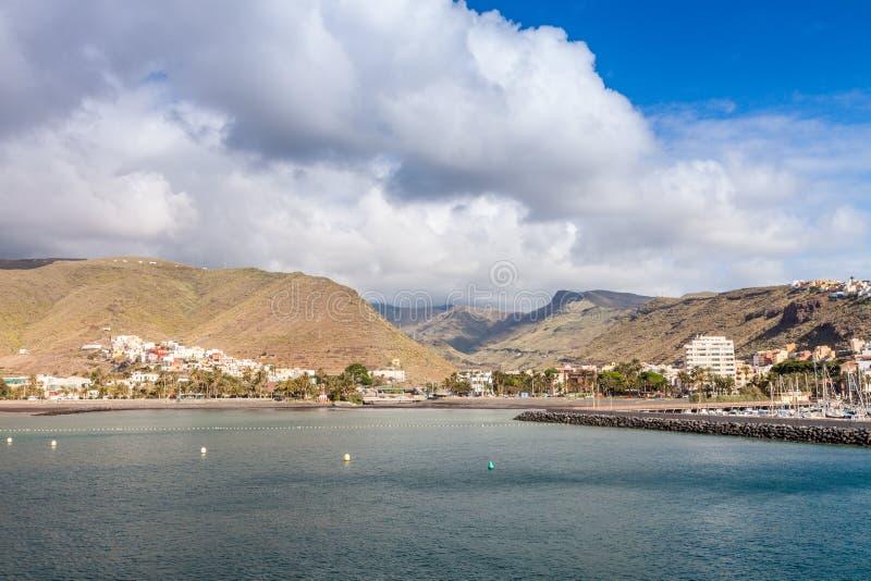 Isla de Gomera del La foto de archivo libre de regalías