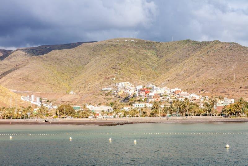 Isla de Gomera del La imágenes de archivo libres de regalías
