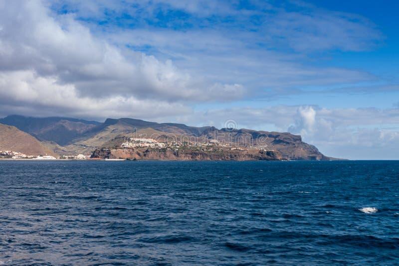 Isla de Gomera del La imagenes de archivo