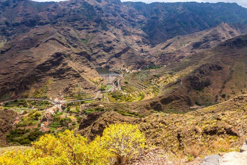 Isla de Gomera del La imagen de archivo libre de regalías