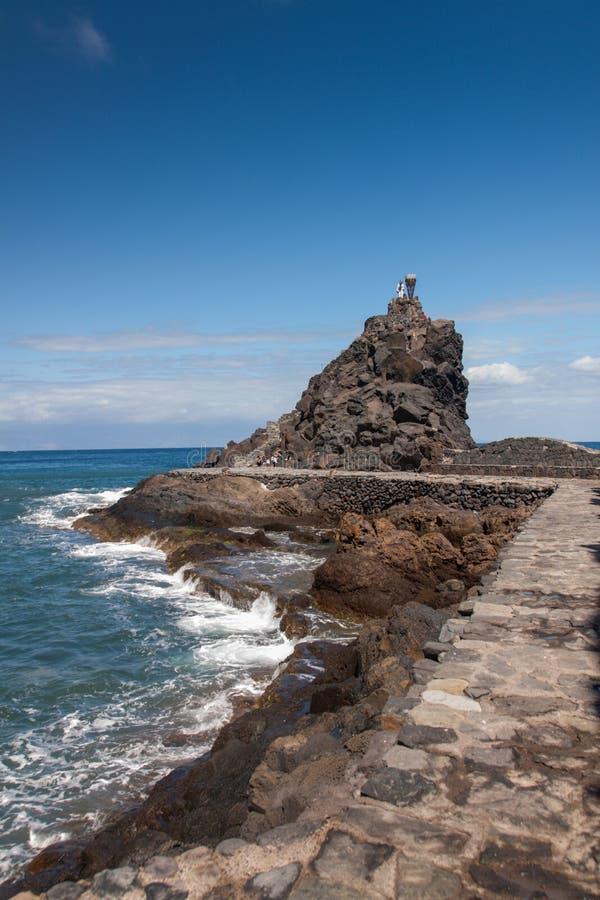 Isla de Gomera del La fotos de archivo