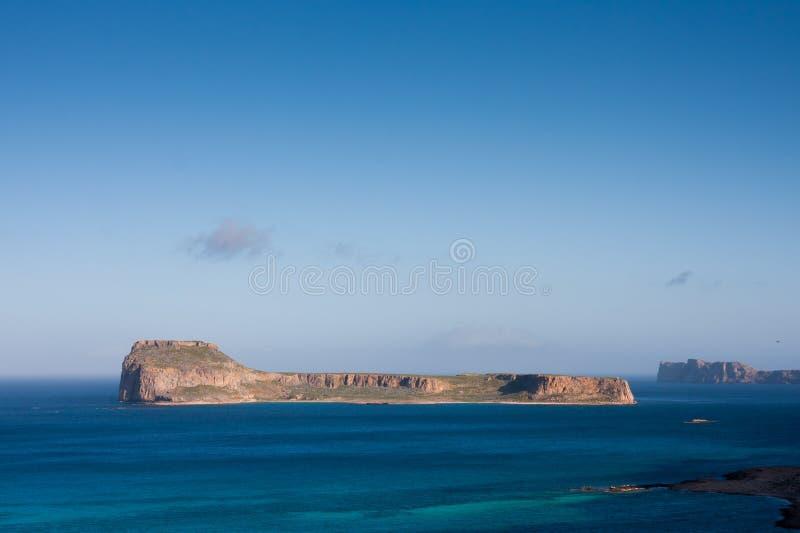 Isla de Gramvousa foto de archivo libre de regalías