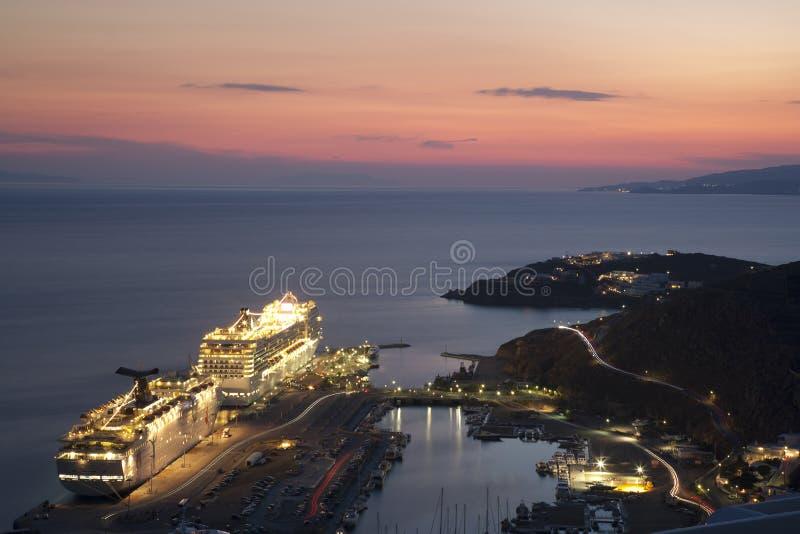 Isla de Grecia - de Mykonos foto de archivo libre de regalías