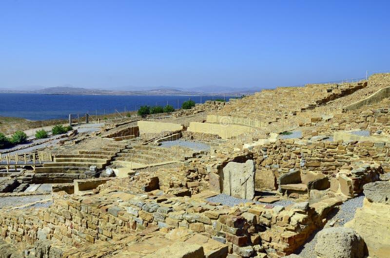 Isla de Greece_Lemnos, Hephaista fotografía de archivo libre de regalías
