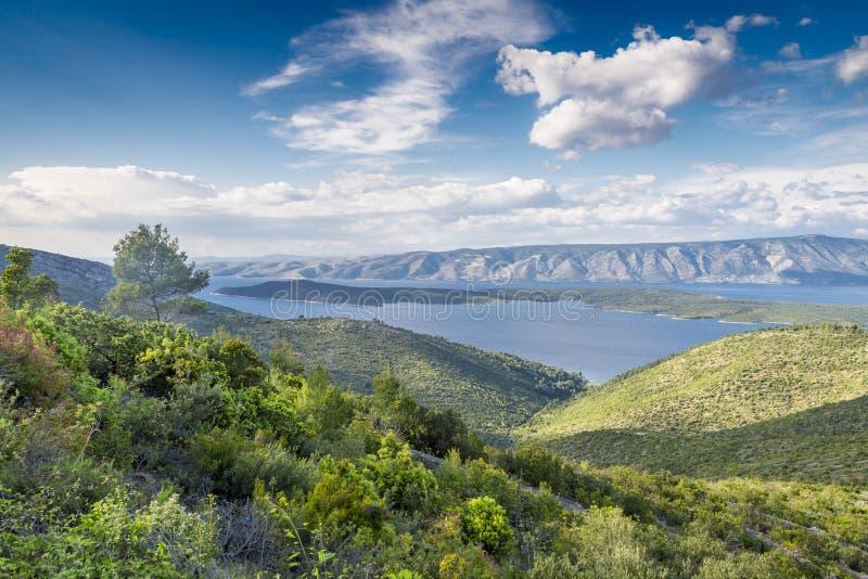 Isla de Hvar, Croatia fotos de archivo
