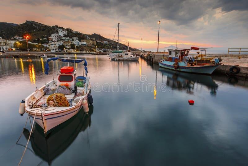 Isla de Ikaria imágenes de archivo libres de regalías