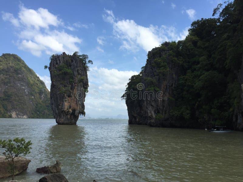 Isla de James Bond foto de archivo
