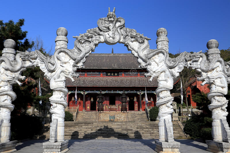 Isla de Junshan en el área del lago Dongting fotos de archivo libres de regalías