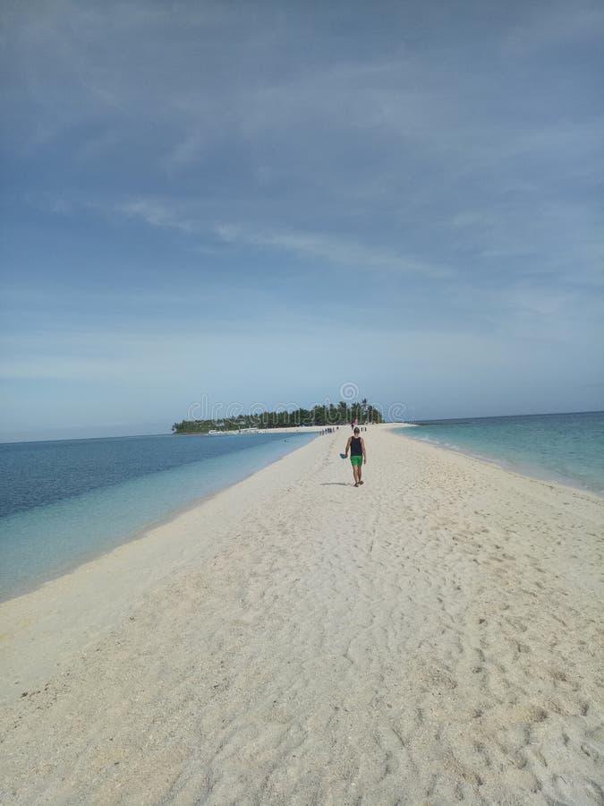 Isla de Kalanggaman foto de archivo
