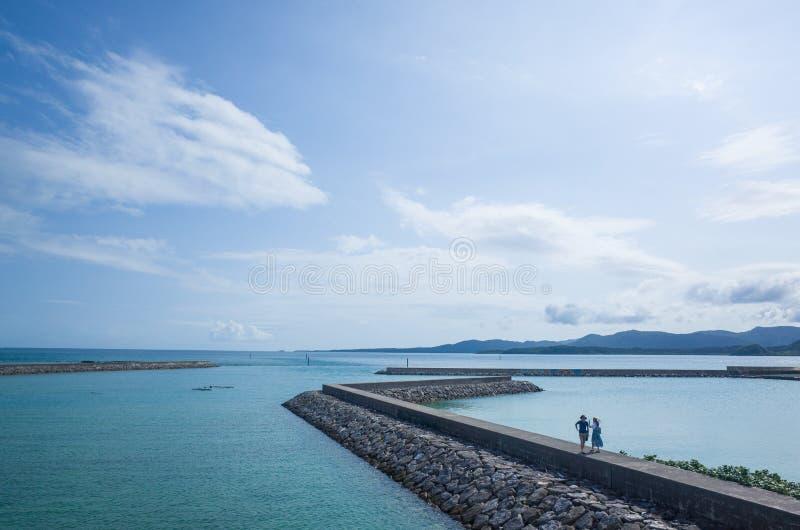 Isla de Kohama, Okinawa Prefecture fotos de archivo
