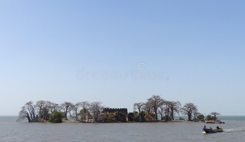 Isla de Kunta Kinteh imagen de archivo