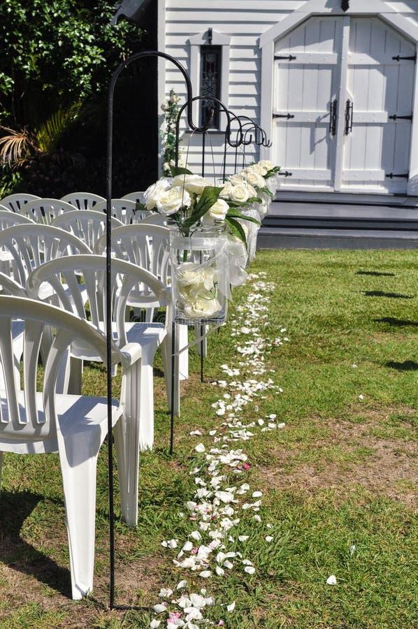 Isla de la ceremonia de boda fotos de archivo libres de regalías