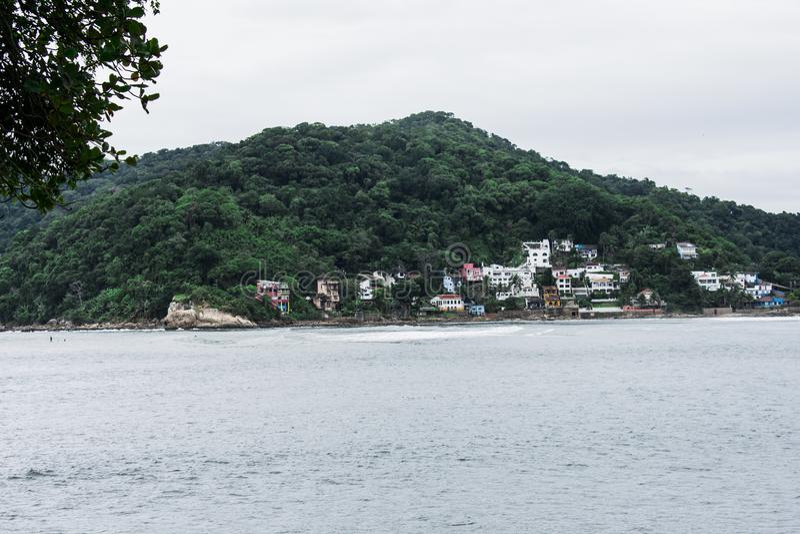 isla de la ciudad del pochat del sao vicente imagen de archivo