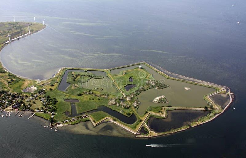 Isla de la estrella fotografía de archivo