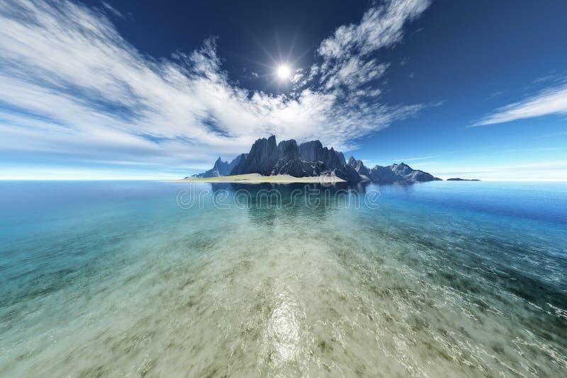 Isla de la fantasía libre illustration