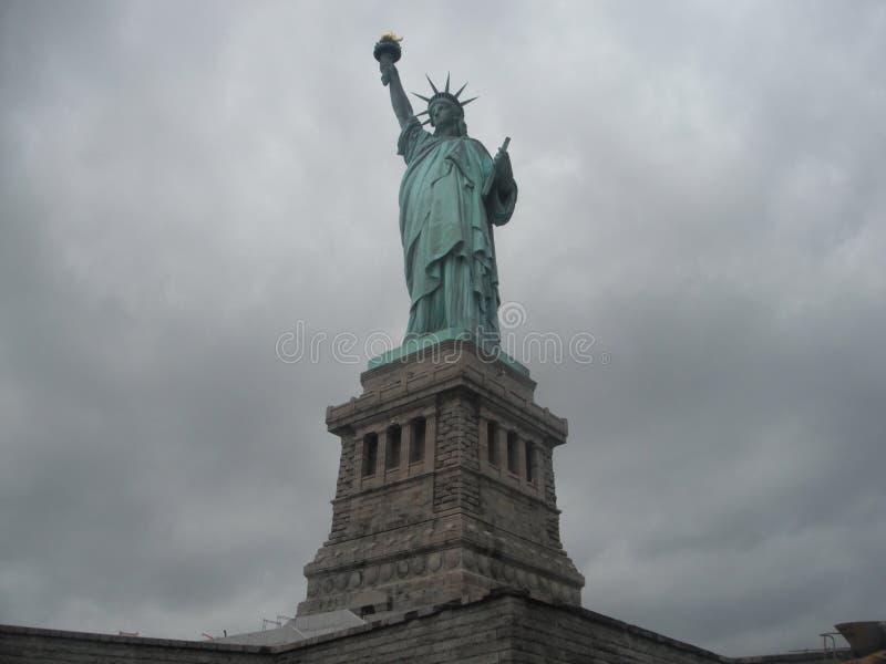 Isla de la libertad de Nueva York imagen de archivo libre de regalías