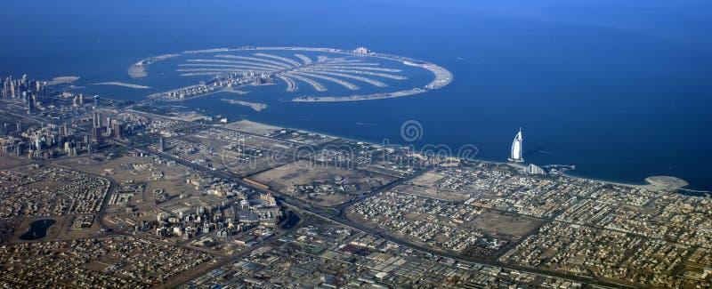 Isla de la palma de Dubai foto de archivo libre de regalías