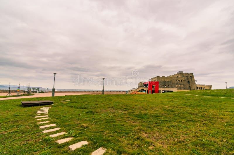 Isla de la paz en keelung fotos de archivo