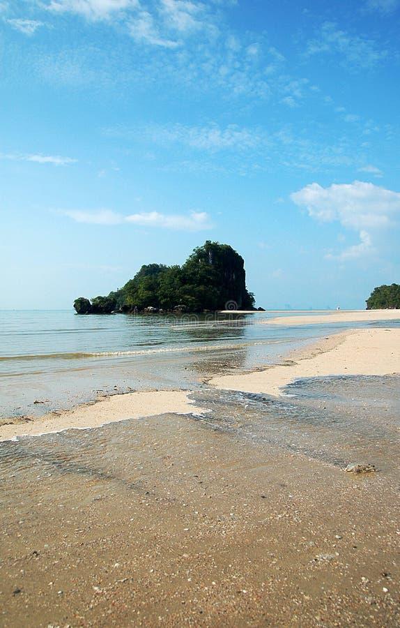 Isla de la playa foto de archivo