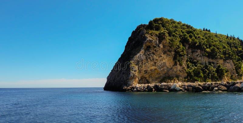 Isla de la roca foto de archivo