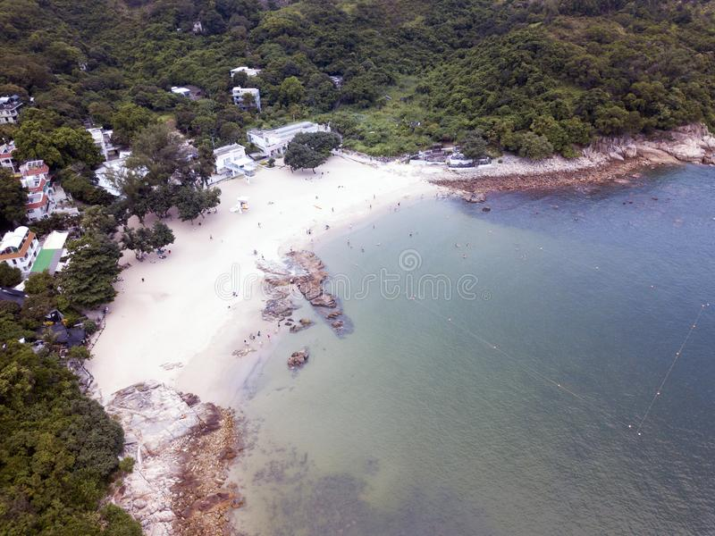 Isla de Lamma cerca de la isla de Hong-Kong fotos de archivo libres de regalías