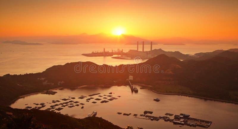 Isla de Lamma, Hong-Kong foto de archivo