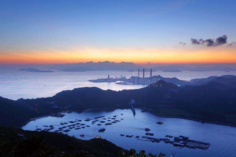 Isla de Lamma, Hong Kong imágenes de archivo libres de regalías