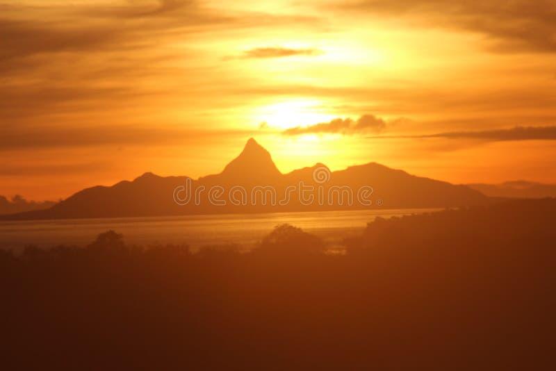 Isla de las mulas foto de archivo libre de regalías