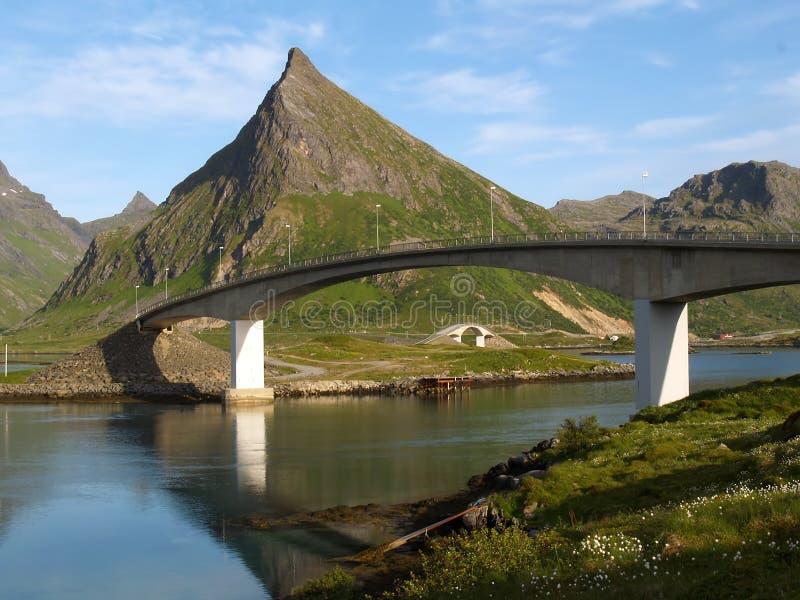 Isla de Lofotten imagenes de archivo