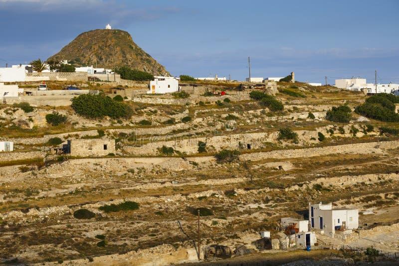 Isla de los Milos imágenes de archivo libres de regalías