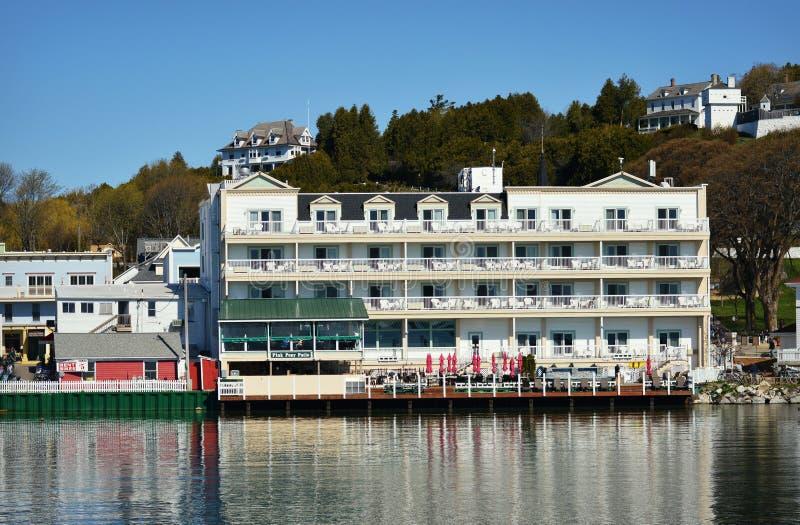 Isla de Mackinac del hotel de Chippewa foto de archivo