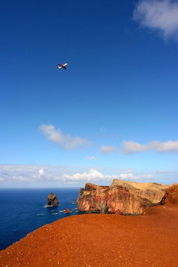 Isla de Madeira - ½ o del ¿del lourenï de ponta de sao imagenes de archivo