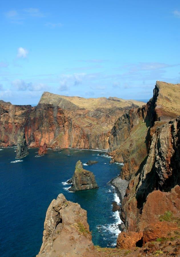 Isla de Madeira - louren?o de ponta de sao fotografía de archivo libre de regalías