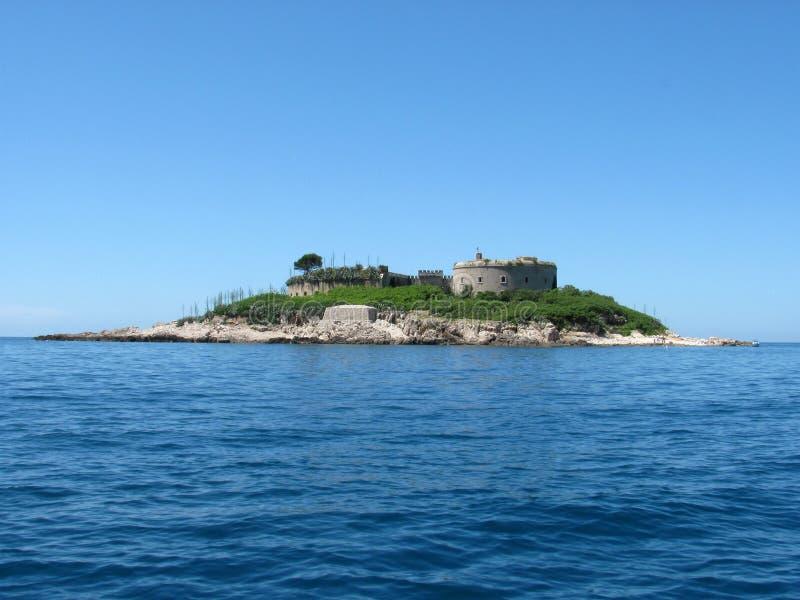 Isla de Mamula imagen de archivo